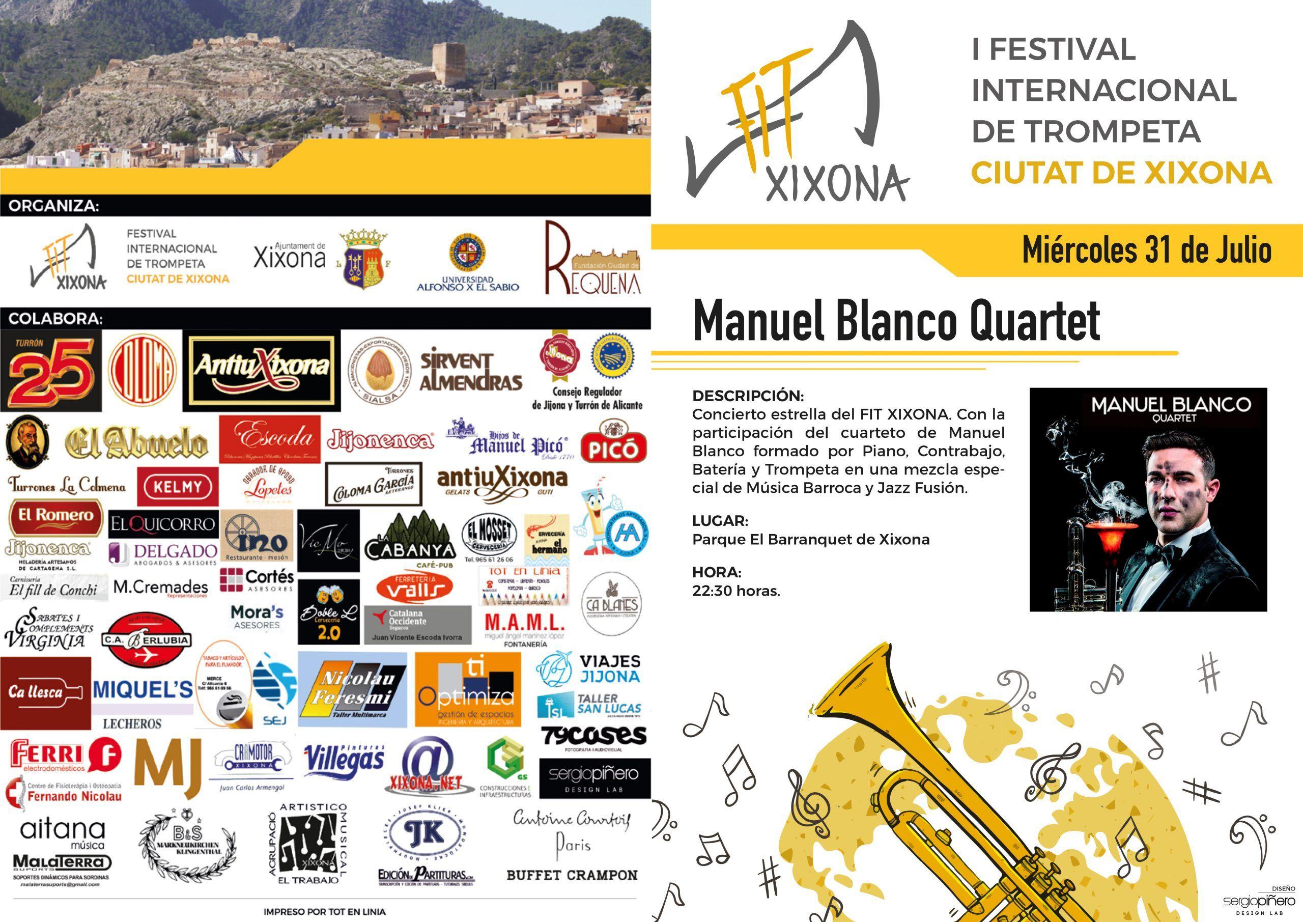 Programa de mano Festival Internacional de Trompeta